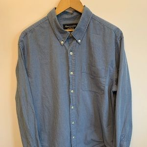 Mens Large Abercrombie & Fitch Button down Shirt